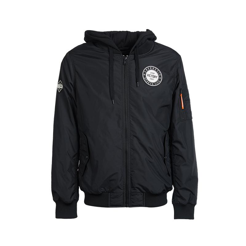 特步 专柜款 男子棉服保暖夹克外套983429170354