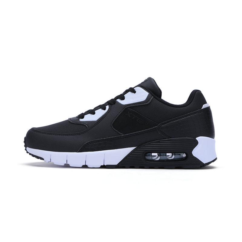 特步 专柜款 男子休闲鞋 气能环柔软垫男鞋983419326196