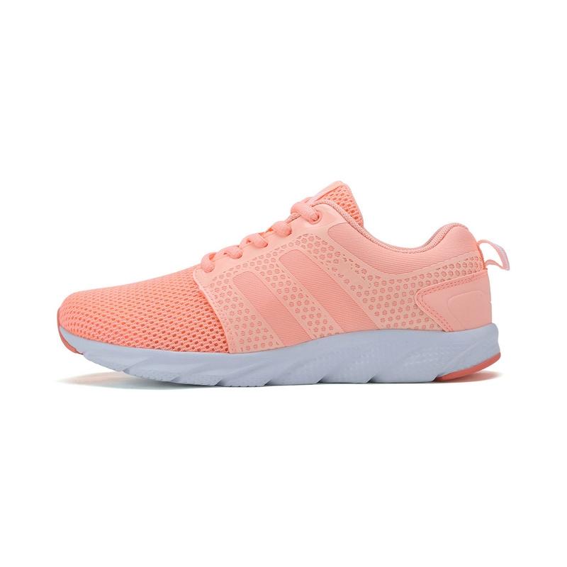 特步 专柜款 女子夏季跑鞋  新品网面透气舒适运动鞋983218116397