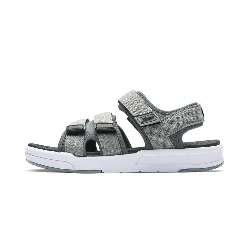 特步 专柜款 男子凉鞋 舒适休闲沙滩鞋魔术贴拖鞋982219171533