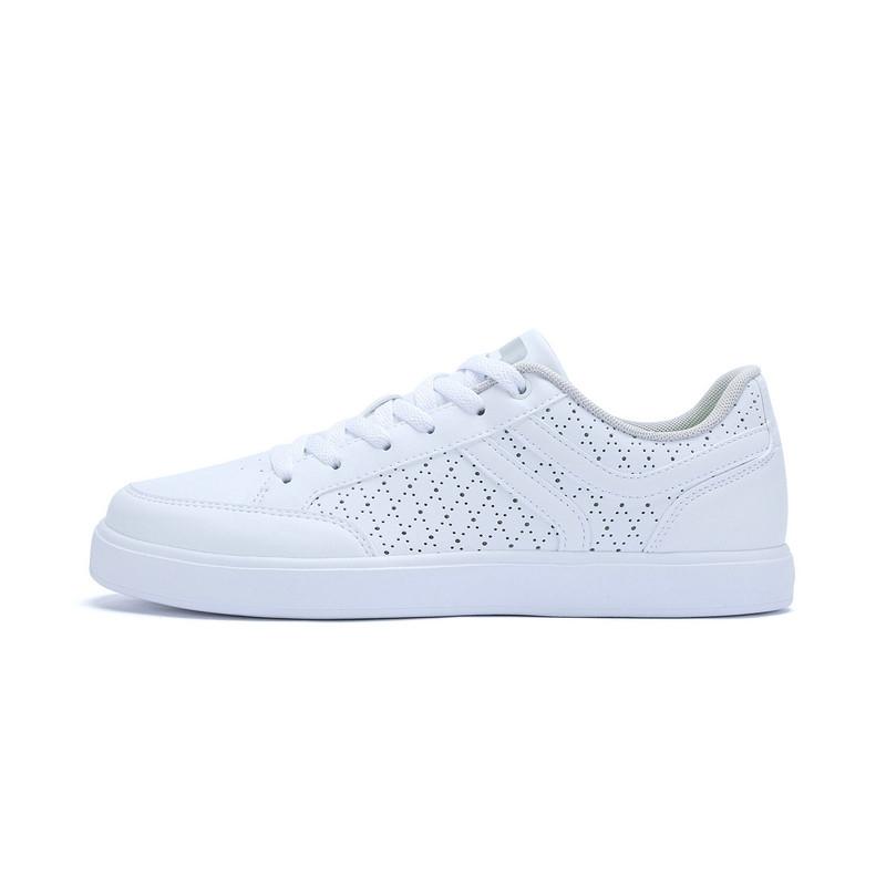 特步 男板鞋夏季新品 透气舒适轻便男鞋983219315659