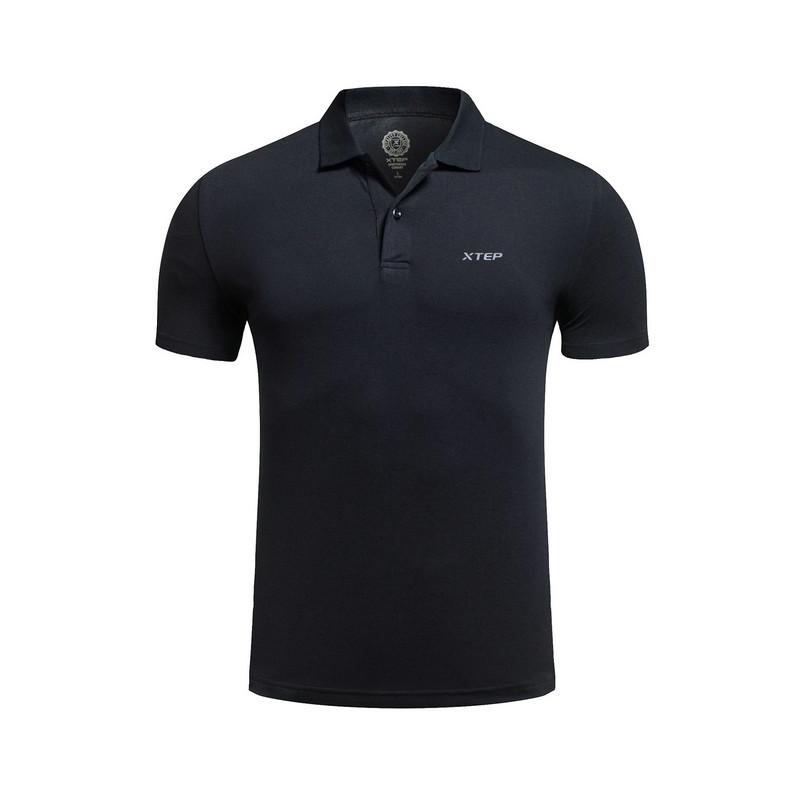 特步 专柜款 男子夏季T恤 翻领POLO衫983229430006