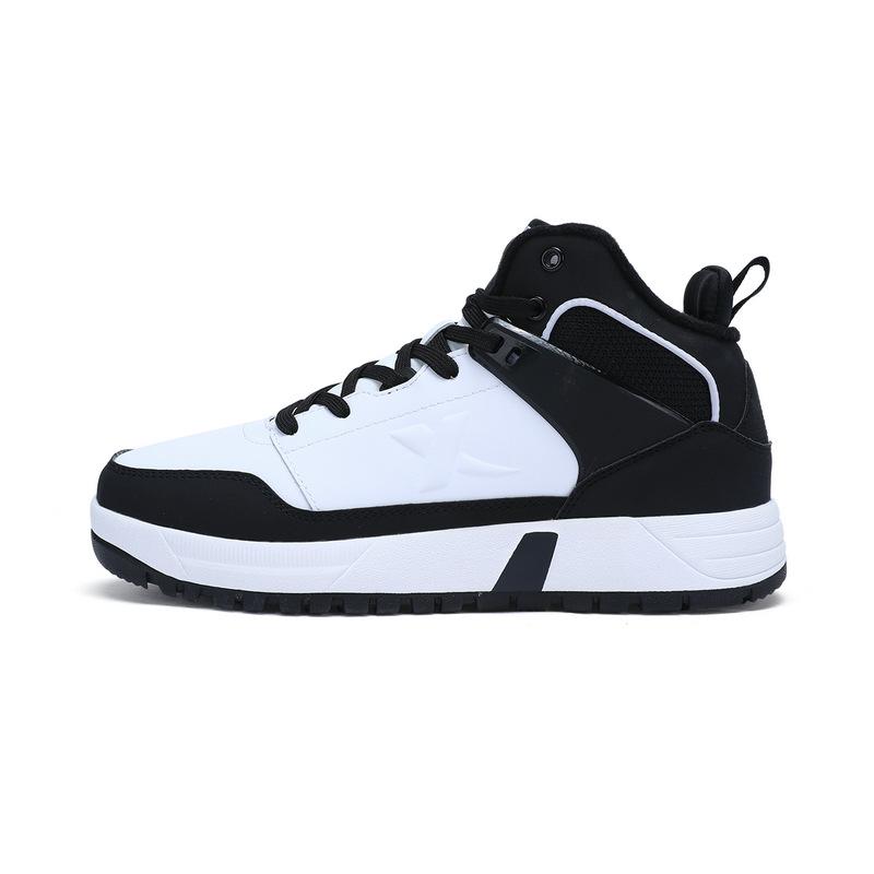 特步 女子冬季棉鞋 新品保暖高帮女鞋983418379091
