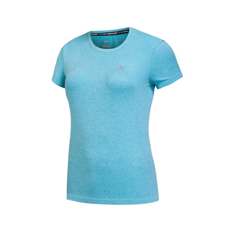 特步 女短T恤 春夏新款 舒适透气轻便女上衣883128019030