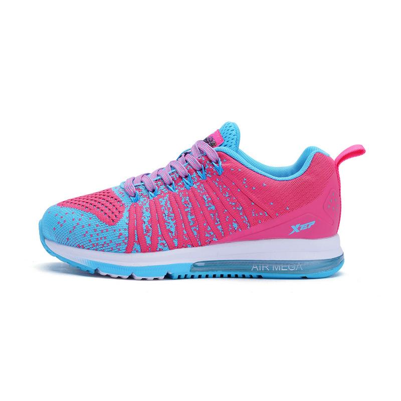 特步 专柜款 女童秋季跑鞋 新品大童学生校园气垫跑步鞋运动鞋683314115091