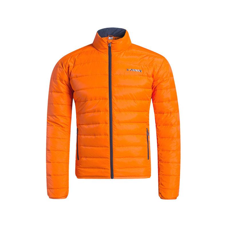 特步 男子羽绒服 冬季新品 保暖舒适运动轻便立领纯色休闲外套883429199021