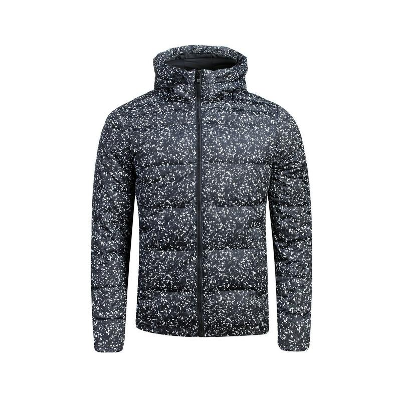 特步  男子羽绒服 时尚斑点保暖羽绒服 男子外套984429190529