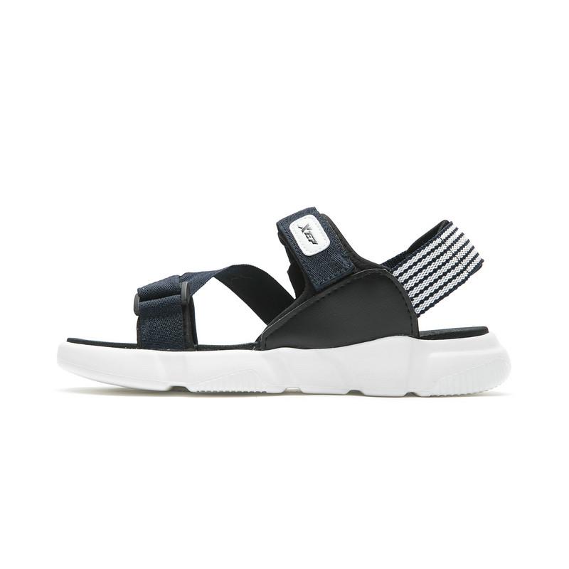 特步 专柜款  男子户外凉鞋  夏季潮流魔术贴舒适拖鞋982219171523