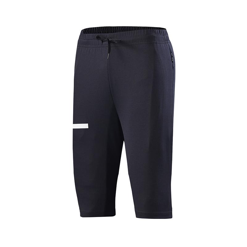 特步 专柜款 男子针织中裤   都市时尚裤子982229610186
