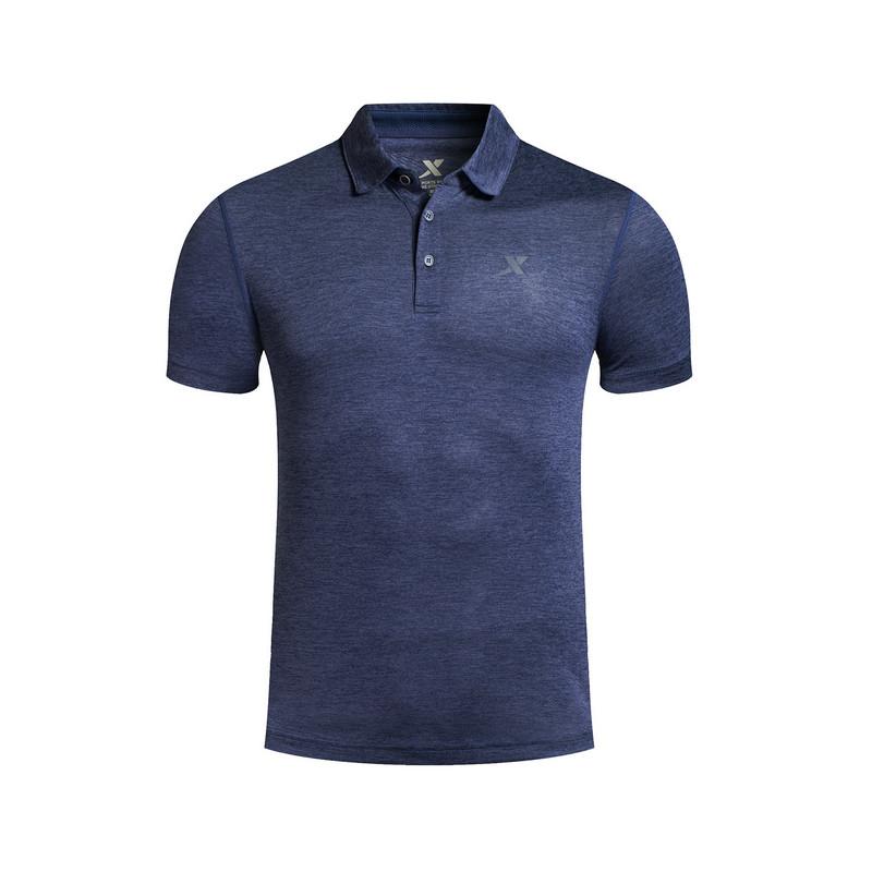 特步 专柜款 男子夏季POLO衫 休闲舒适男装983229020990