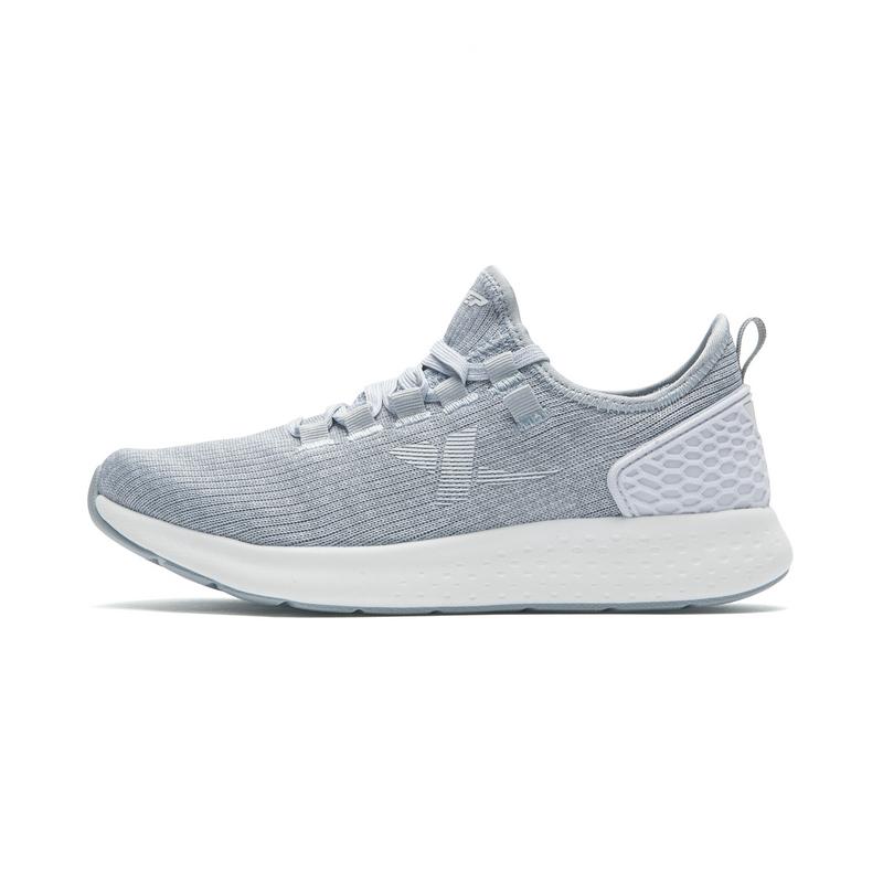 特步 女子跑鞋 减震透气舒适运动鞋982218116787