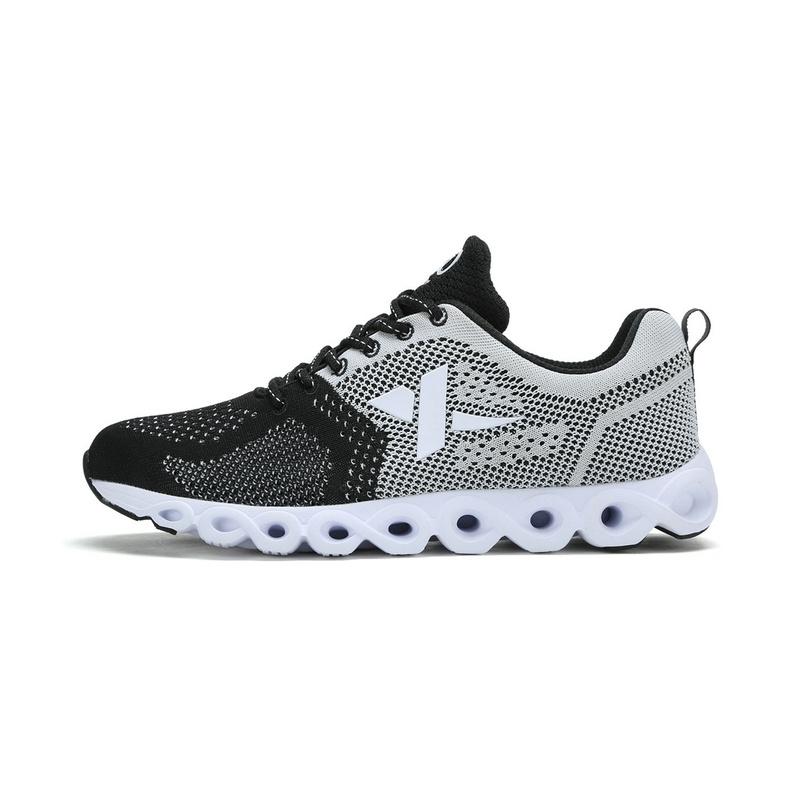 特步 男跑步鞋 春季新款 飞织材质减震旋 时尚男运动鞋983119119595