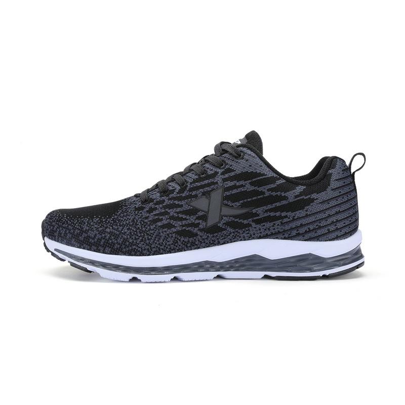 特步 专柜款 男子跑步鞋  动力巢缓震透气男子跑步鞋983119116252