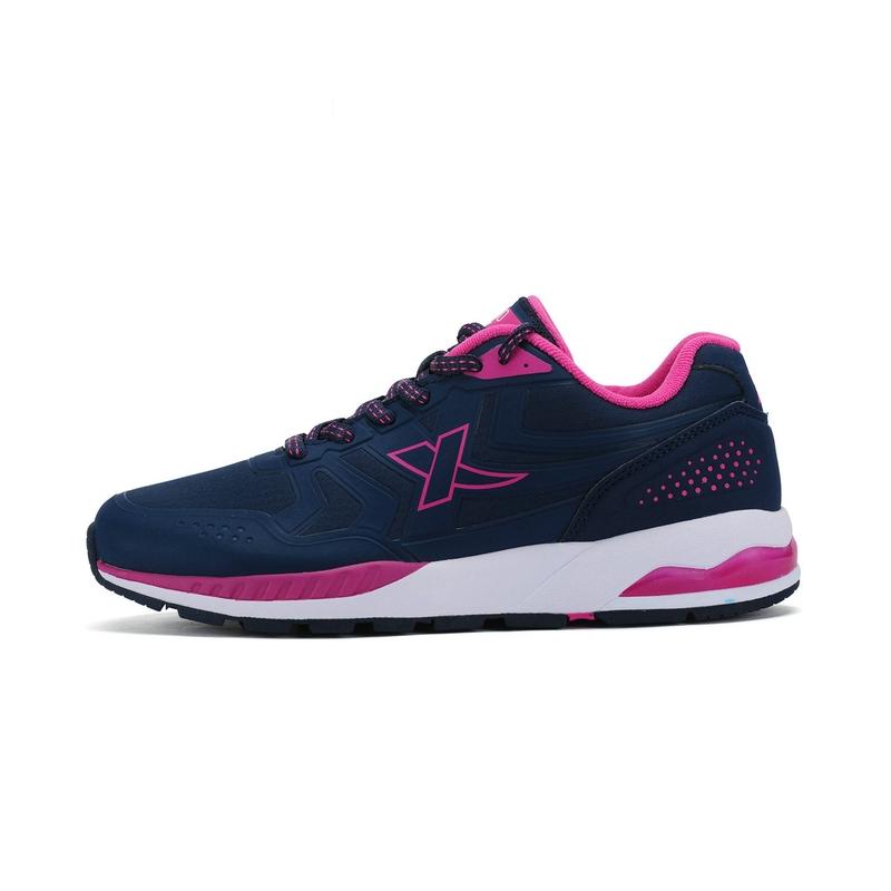 特步 专柜款 X980女休闲鞋 舒适弹力胶运动女鞋984418325912