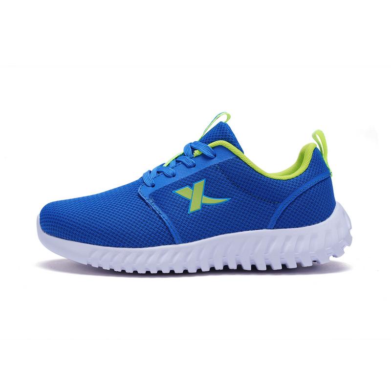 特步 男童跑步鞋春季款 网面舒适透气儿童运动鞋682115119793
