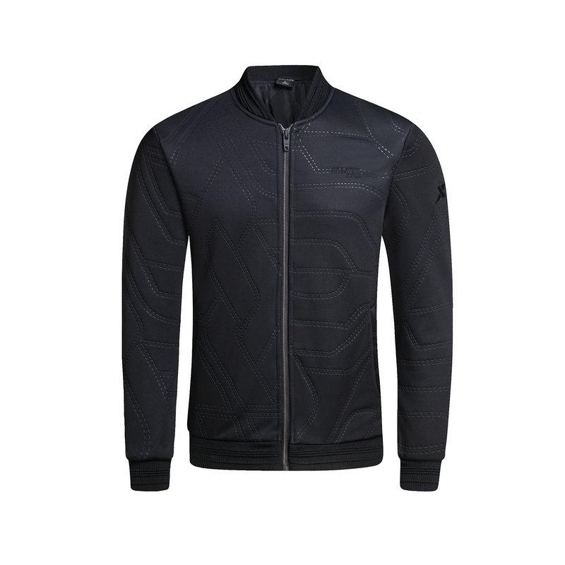 特步 专柜款 男子冬季时尚百搭薄棉服983429170351