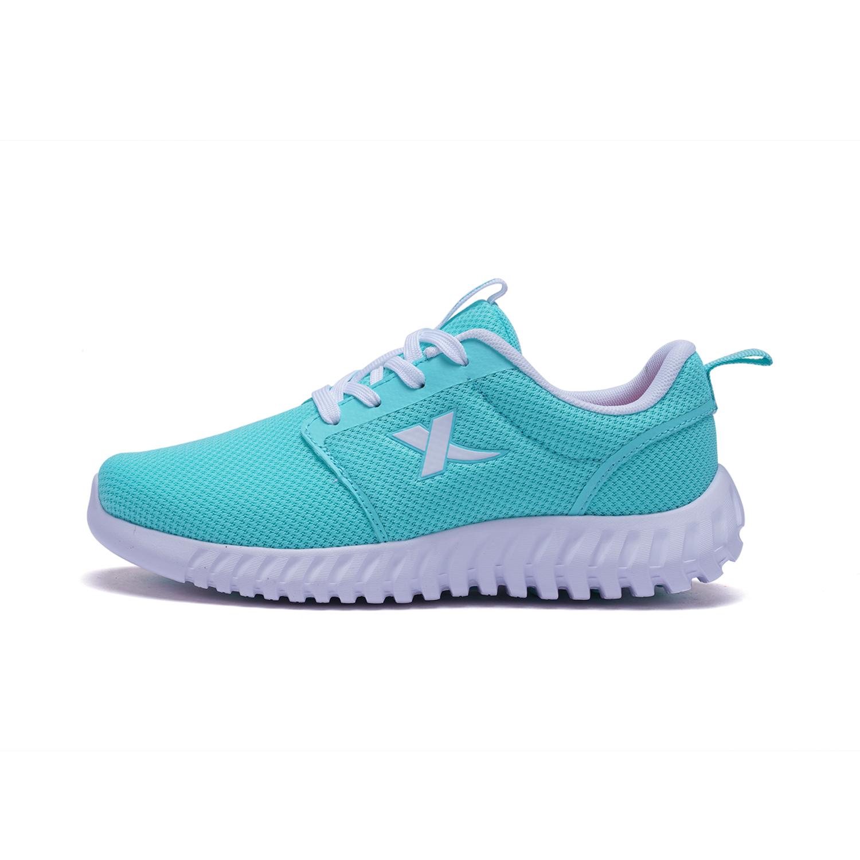 特步 女童春季跑鞋 大童学生柔立方跑鞋682114119793