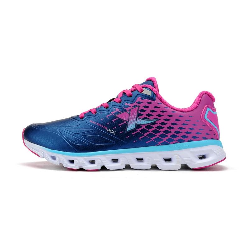 特步 专柜款   冬季女子跑步鞋 缓震渐变跑鞋984418116181