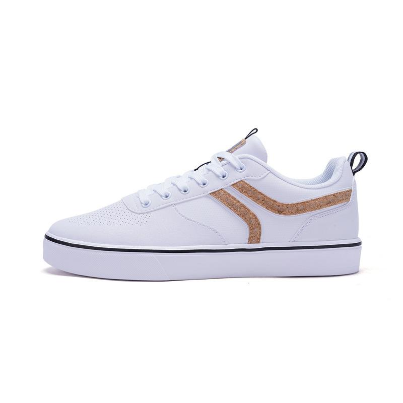 特步 专柜款  男子板鞋 春季时尚π鞋系列滑板鞋982119315755