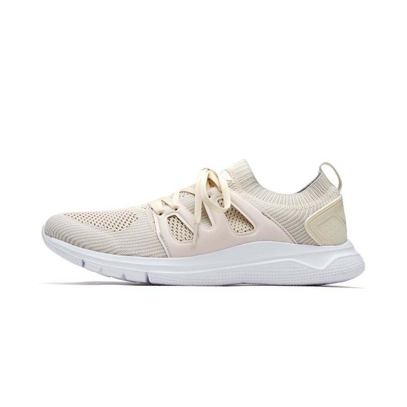 特步 男子夏季跑步鞋 一体织网面男运动鞋982219119577