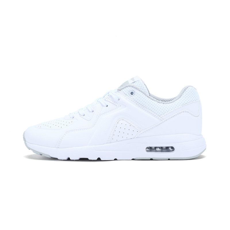 特步 女子春季休闲鞋 简约气能环气垫女鞋982118329023