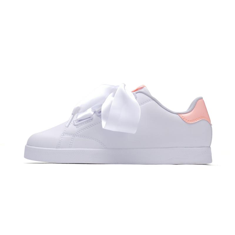 特步 女子春季板鞋 绸带板鞋982118319395