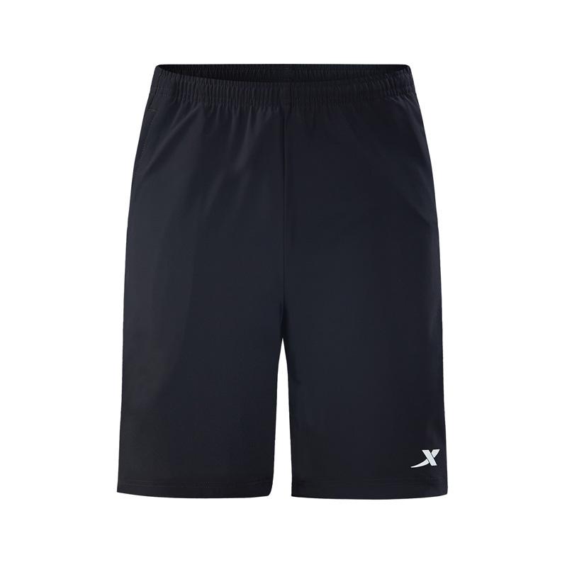 特步 专柜款 男子针织短裤2018夏季新款轻便舒适时尚潮流休闲跑步男运动裤 982329600109