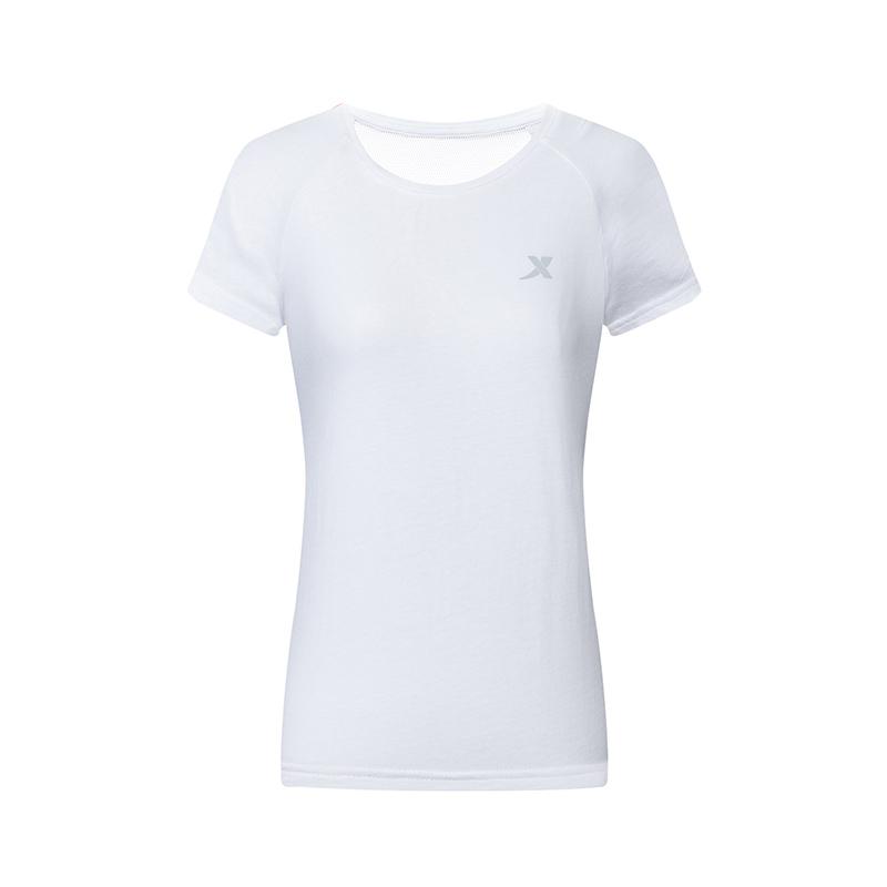 特步 女子运动T恤 健身训练跑步T恤882228019147