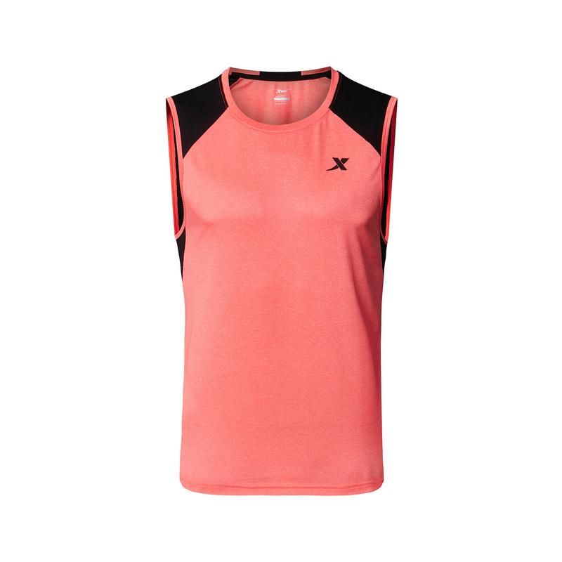 特步 男子运动背心 专业运动健身无袖882229099127