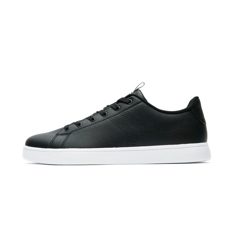 特步 专柜款 男子夏季板鞋 简约时尚小白鞋982219315838