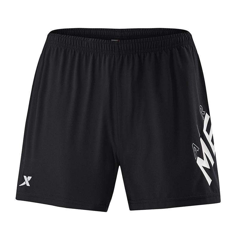 特步 专柜款 女梭织短裤夏季新款轻薄透气舒适时尚纯色简约女运动短裤 982228240102