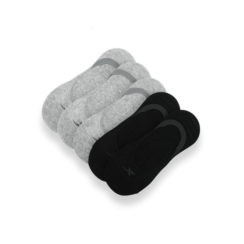 特步 女子秋季船袜 黑灰色混装 女隐形袜【特殊商品不支持退换货】883338519092