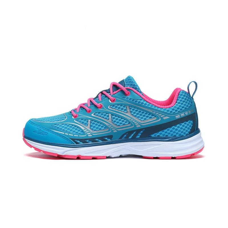 特步 专柜 女子夏季户外鞋 17新品网面透气 耐磨防滑户外鞋983218171305