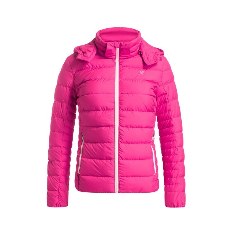 特步 专柜款   女子冬季羽绒服 16年冬季新款 时尚百搭保暖外套984428190512