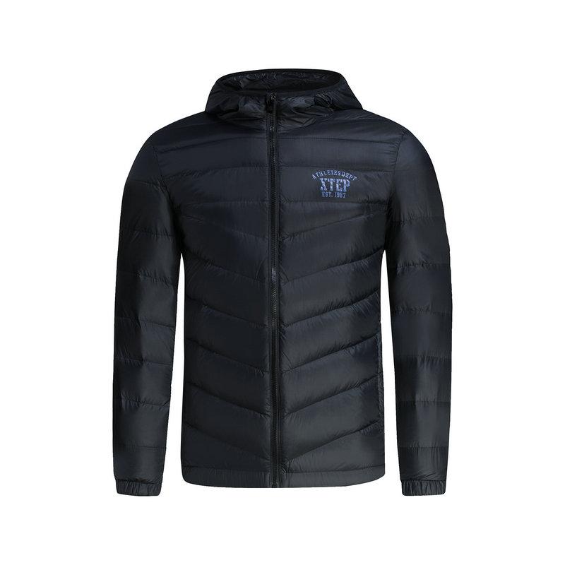 特步 专柜款   冬季男子羽绒服 轻质保暖时尚羽绒服984429190536