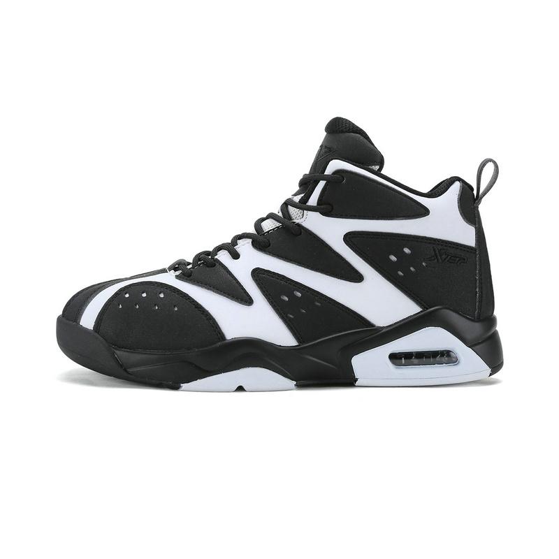 特步 冬季新款篮球鞋 高帮护踝篮球鞋984419121007