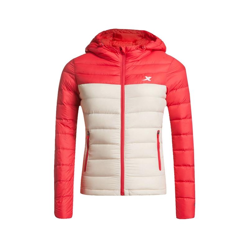 特步 专柜款   女子冬季羽绒服 保暖舒适 女子冬季外套984428190495