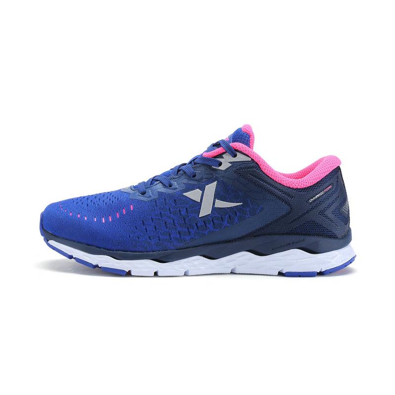 特步 专柜款   女子跑步鞋  春季新品 透气动力巢缓震女跑步鞋983118116237