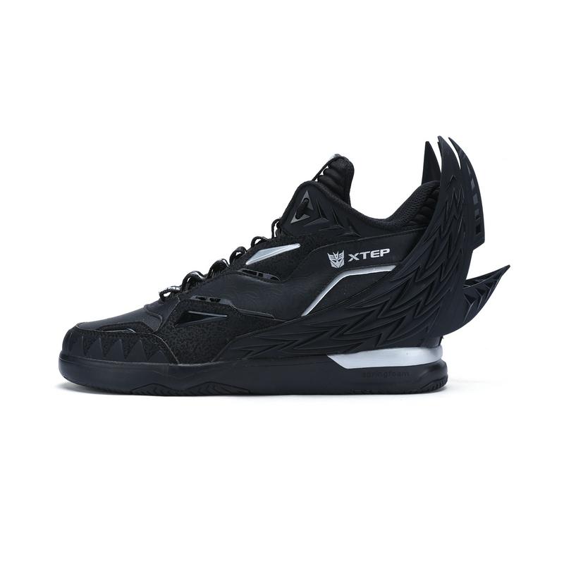 特步 专柜款 男子冬季板鞋 新品变形金刚联名款高帮男板鞋983419315807