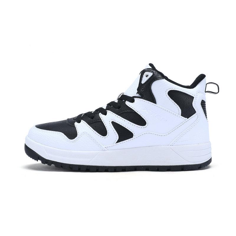 特步 专柜款 女子棉鞋冬季款  耐磨运动休闲鞋983418370997