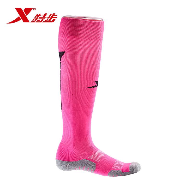 特步 专柜 男运动足球袜高 筒球袜舒适棉质运动袜984339512063