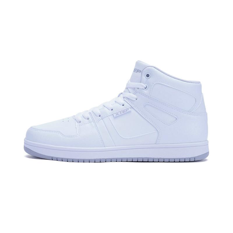 特步 男子板鞋  冬季新款潮流舒适高帮板鞋983419319299