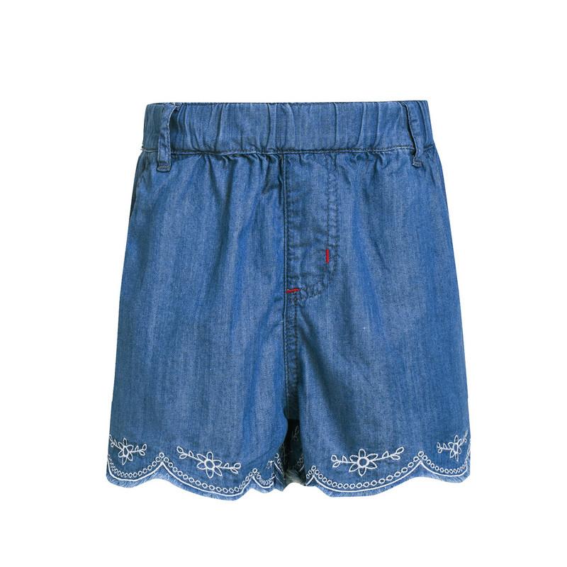 特步 专柜款 女童夏季裤裙 甜美可爱时尚 大童裤裙684224945234