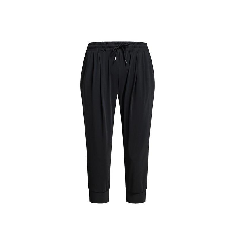 特步 专柜款 女子夏季七分裤 19新品休闲针织七分裤983228620224