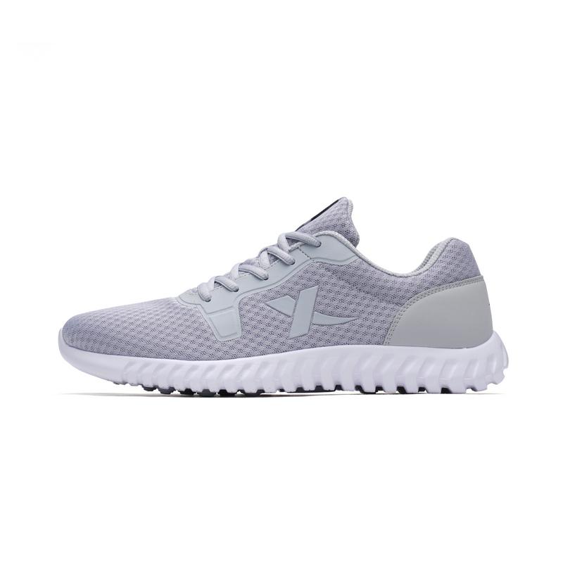 特步 男子跑鞋 网面透气柔立方运动鞋982219119787