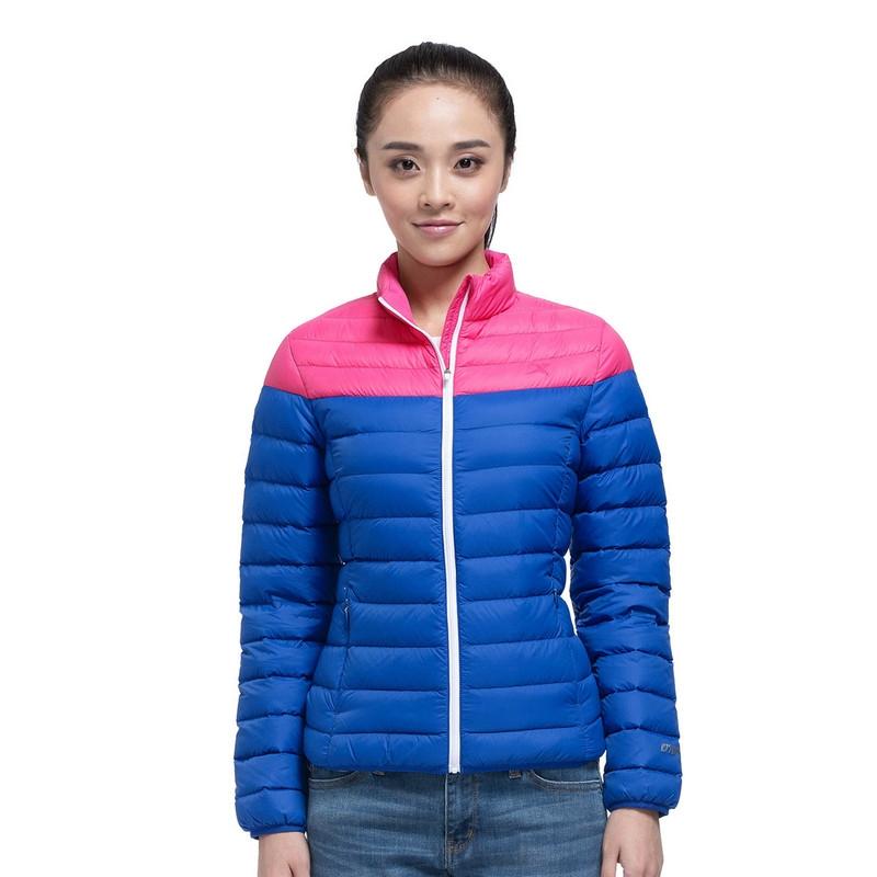 特步 专柜款   冬季女外套 轻便潮流保暖 女羽绒服984428190510