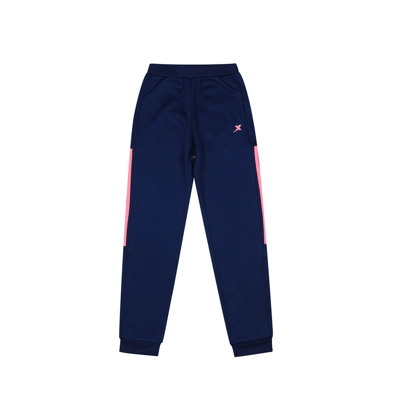 特步 专柜款 女童秋季长裤 新品针织舒适运动大童学生针织长裤683324634025
