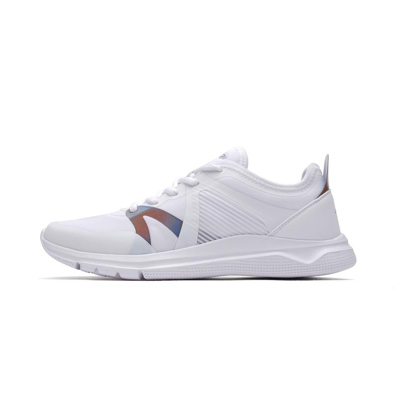 特步 女子夏季跑步鞋 简约轻便女鞋982218119578