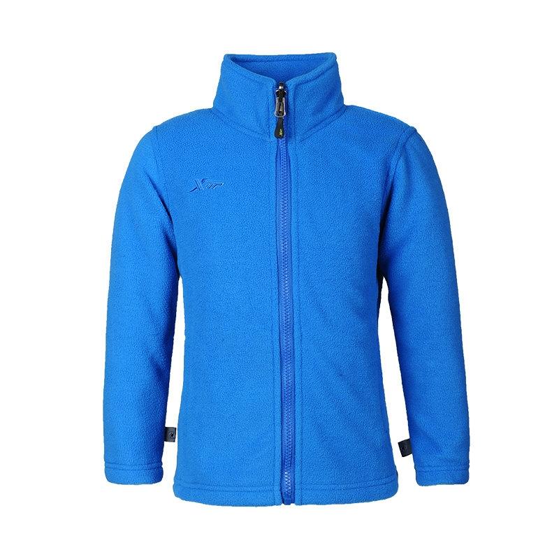 特步 男童保暖外套 时尚休闲舒适 抓绒保暖外套884125409315