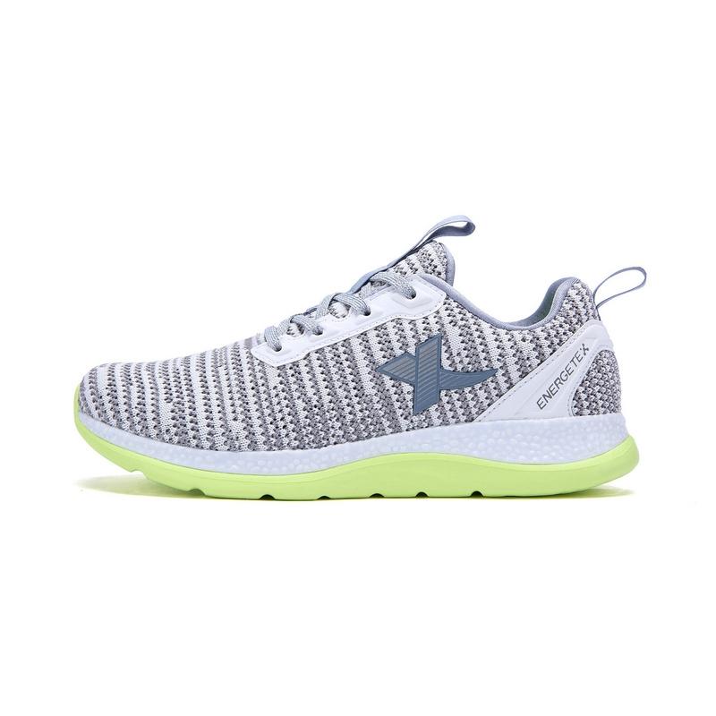 特步 专柜款 女子夏季跑鞋  新品飞线针织轻便 聚能弹女鞋983218116275